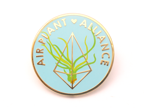 Air Plant Alliance Enamel Pin