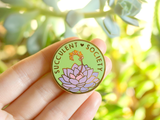 Seconds Sale - Succulent Society Pin