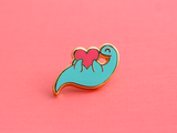 Plesiosaur Collar Pin Set