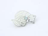 Winter Purrmaid Pin