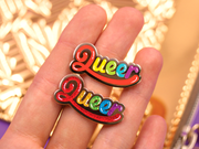 Seconds Sale - Queer Pin - Oh Plesiosaur