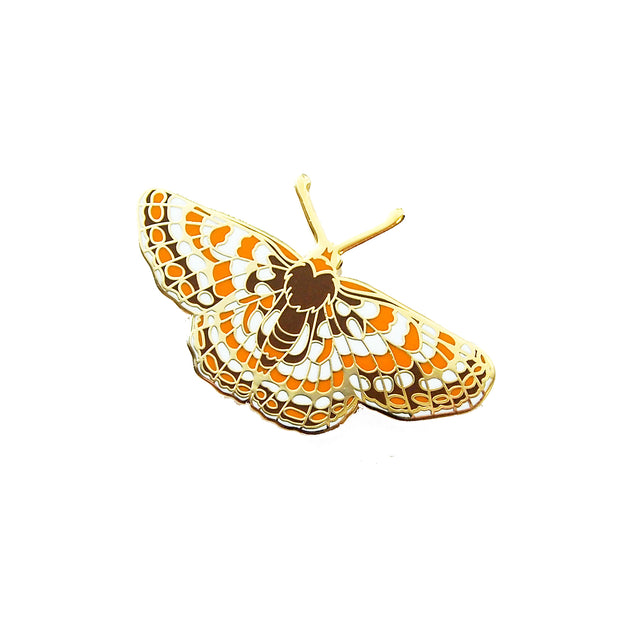 Quino Checkerspot Butterfly Pin - Oh Plesiosaur