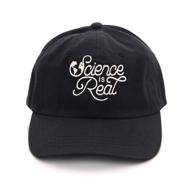 """Science is Real"" Baseball Cap"