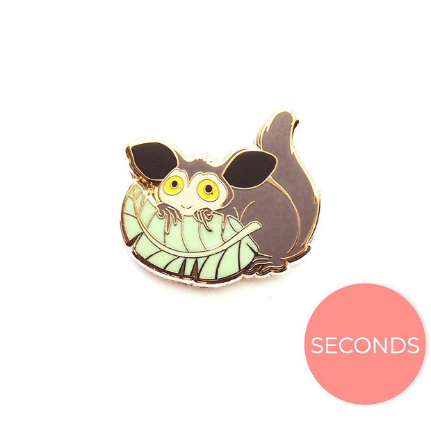 Seconds Sale - Aye-aye Pin - Oh Plesiosaur