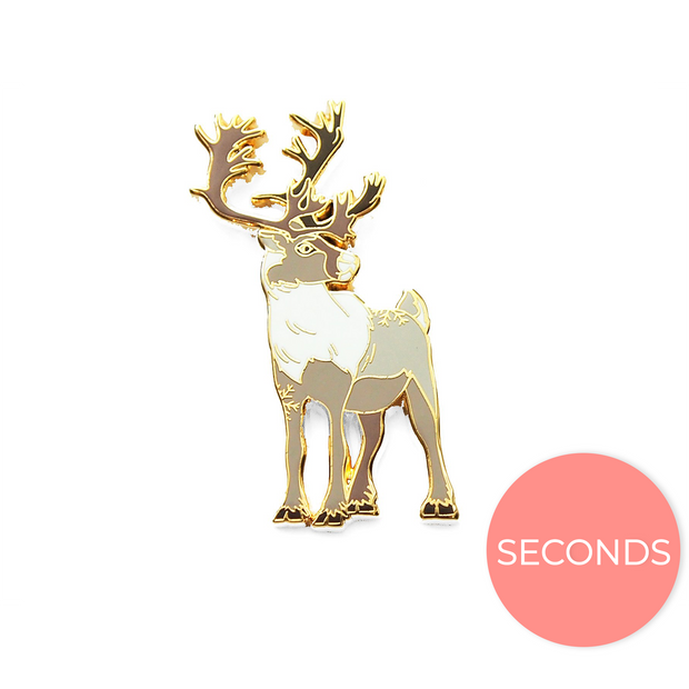 Seconds Sale - Caribou Pin - Oh Plesiosaur