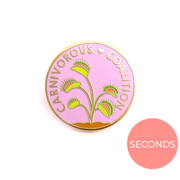 Seconds Sale - Carnivorous Coalition Pin - Oh Plesiosaur