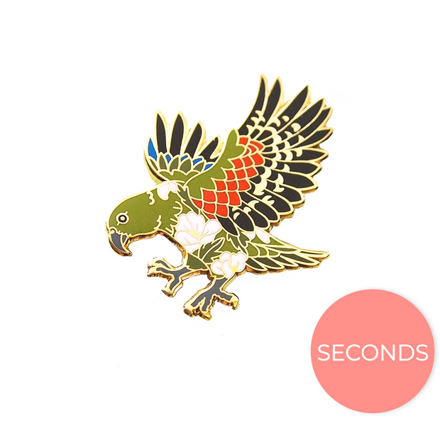 Seconds Sale - Kea Pin - Oh Plesiosaur