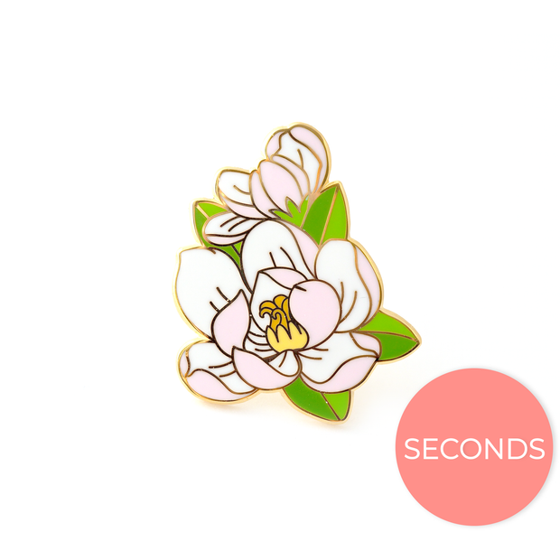 Seconds Sale - Magnolia Pin - Oh Plesiosaur