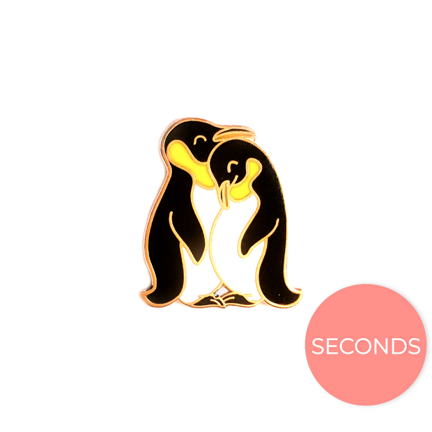 Seconds Sale - Penguin Pin - Oh Plesiosaur