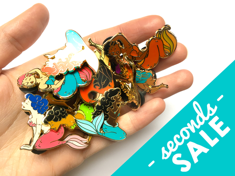 Seconds Sale - Mermaid Pins