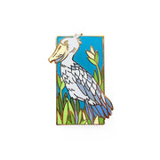 Shoebill Pin - Oh Plesiosaur