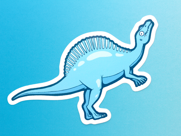 Dinosaur Sticker Set - Oh Plesiosaur