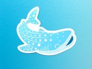 Ocean Sticker Set - Oh Plesiosaur