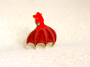 Seconds Sale - Vampire Squid Pin - Oh Plesiosaur