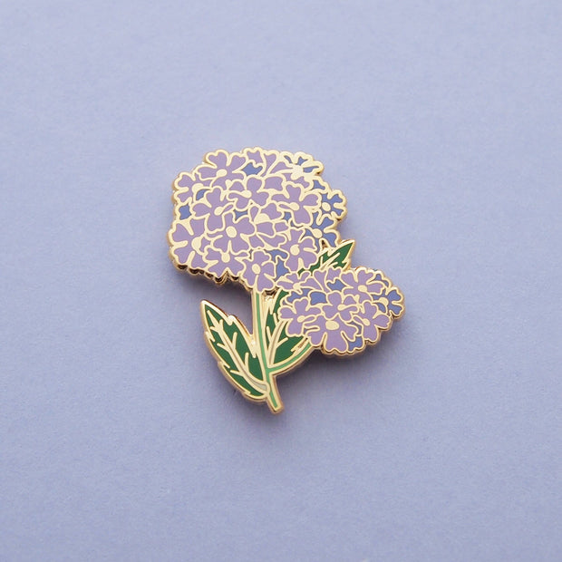 Seconds Sale - Tall Verbena Pin - Oh Plesiosaur