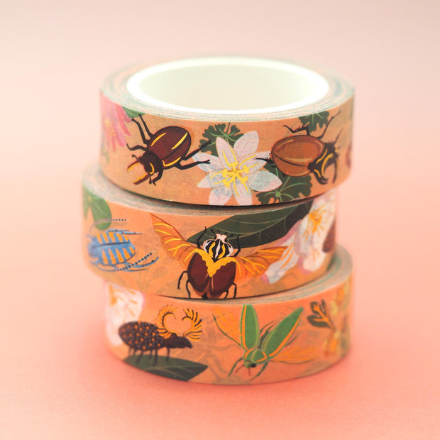 Beetle Washi Tape