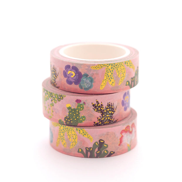 Succulents & Cacti Washi Tape