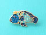 Humphead Wrasse Pin