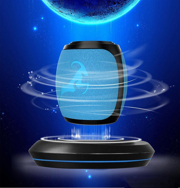 Portable Bluetooth Magnetic Levitation Speaker Floating Rotating Speaker w/ NFC