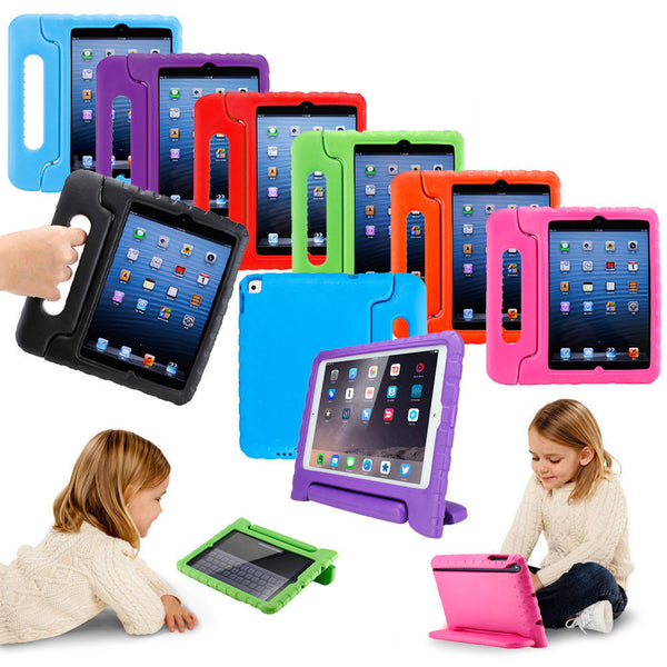 Kids Shock Proof Heavy Duty EVA Foam Stand Case Cover For iPad mini , iPad Air 2