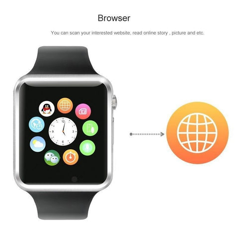 Latest Bluetooth Smart Watch Phone Mate Touch Screen for IOS Android IPhone