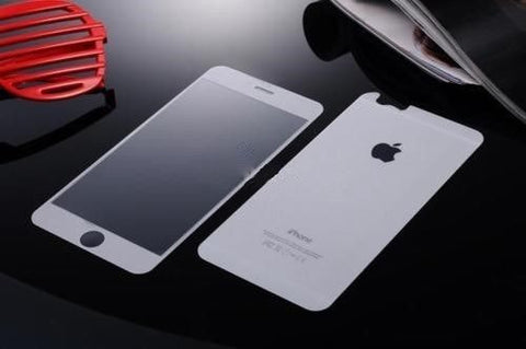 Full Coverage Premium Tempered Glass Screen Protector Film for iPhone 6/6S Plus