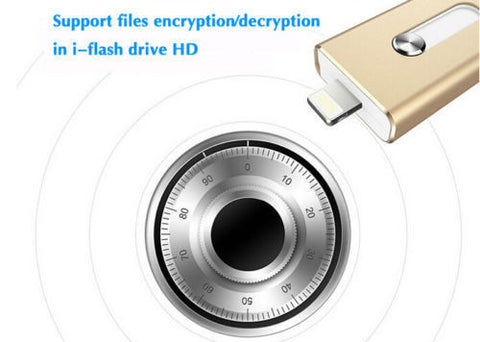 32GB USB Flash Drive Storage Memory Stick OTG For iPhone 5/6/6Plus SE, android