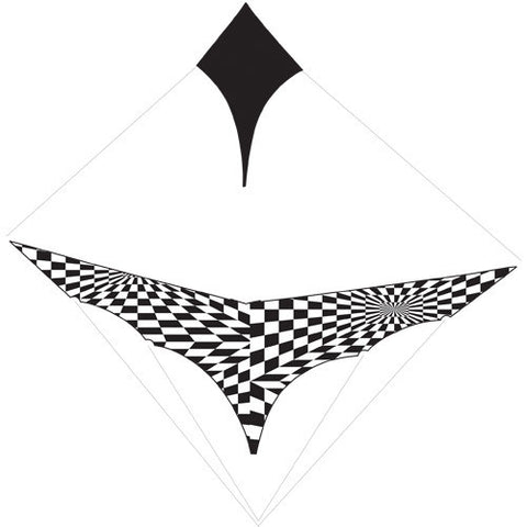 Complete Sail Set with Rigging - Black Op-Art Canard