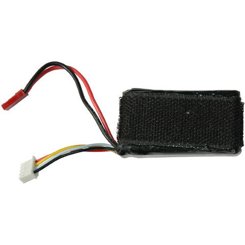 3 cell, 11.4 volt 1050mA LiPo battery