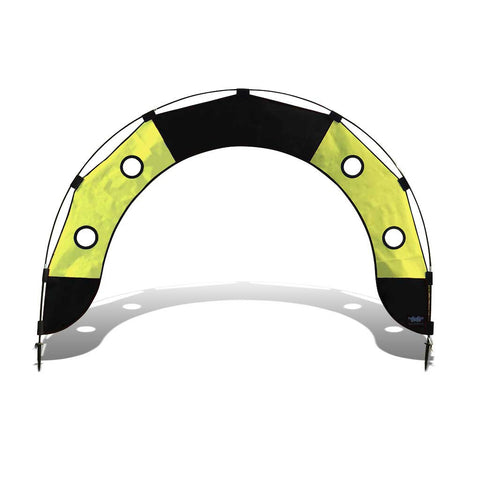 Pro Fly Under Air Gate Arch for FPV Drone Racing - Black and Yellow