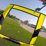 5 ft. Square FPV Racing Air Gate - Yellow/Black Lower Section