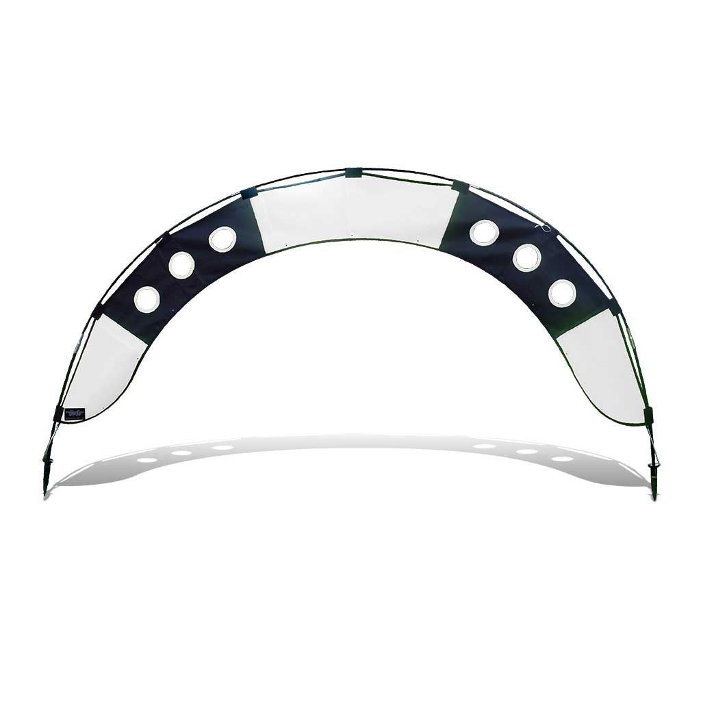 Premier RC standard fly under race arch for drone racing black and white