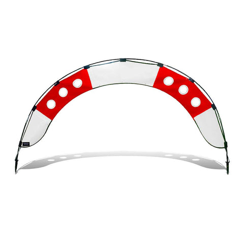 Medium Fly Under Air Gate Arch for FPV Drone Racing - Red and White