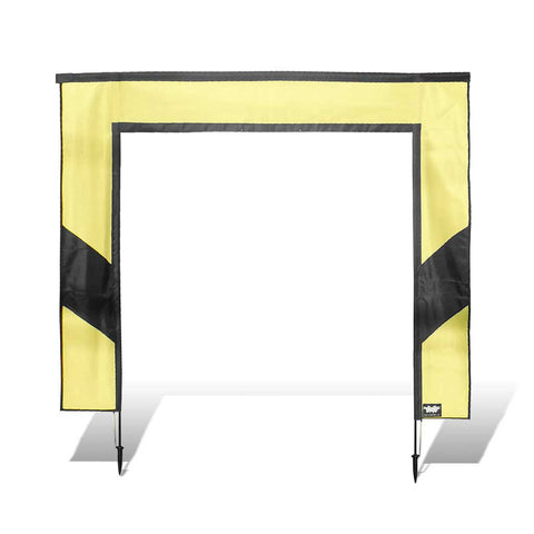 Square Air Gate for FPV Drone Racing - Yellow and Black