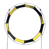 7.5 ft. Keyhole FPV Racing Air Gate - Yellow/Black