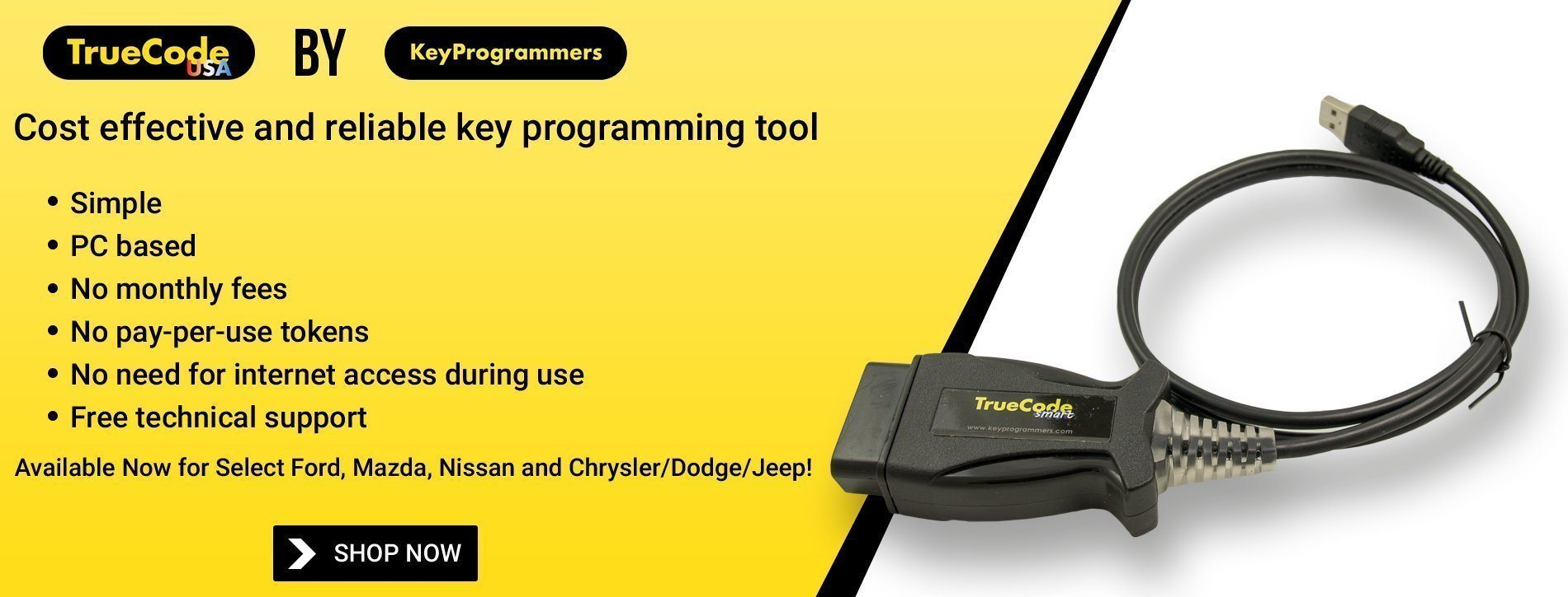TrueCode: Cost effective and reliable key programming tool