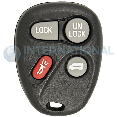 GM 4 Button Remote Key Fob ABO0204T 10245953