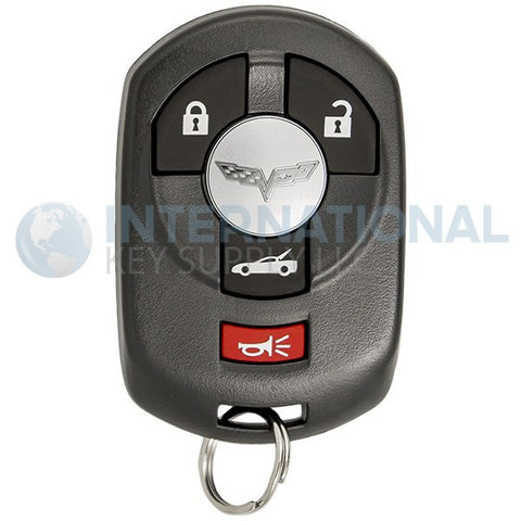 Chevrolet Corvette 4 Button GM Remote Key Fob M3N65981403 10372541 - Driver 1