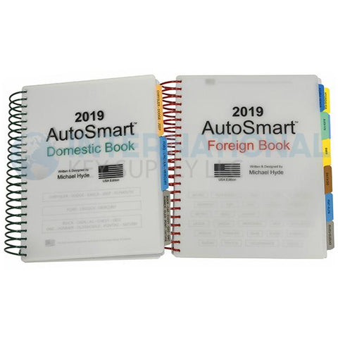 2019 AutoSmart Binder Foreign & Domestic Books By Michael Hyde