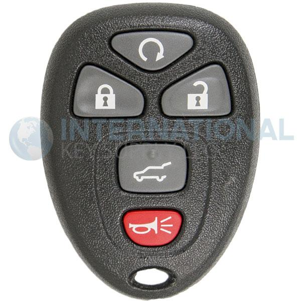 Gm Key Fob >> Gm Original 5 Button Remote Key Fob Ouc60270 22951509 22756459