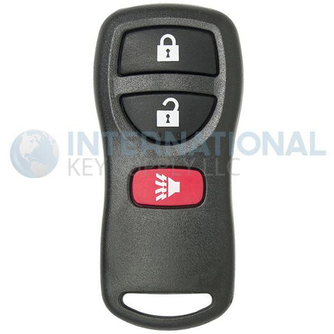 Nissan 3 Button Remote Key Fob KBRASTU15 28268-5W501