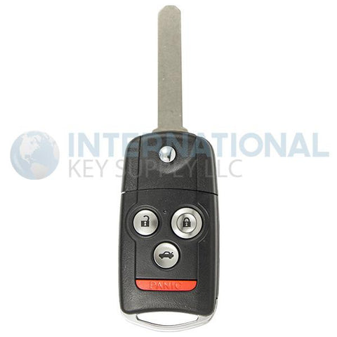 Acura 4 Button Flip Switch Remote Key OUCG8D-439H-A / 35111-SEP-306 - Memory 1