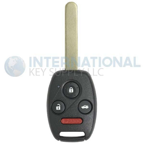 Super Key Honda 4 Button Remote Head Key KR55WK49308 35118-TA0-A00