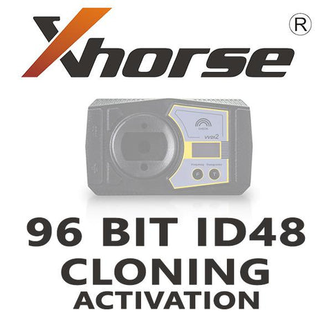 ID48 Complete Cloning 48 Authorization for Xhorse VVDI2/VVDI Key Tool