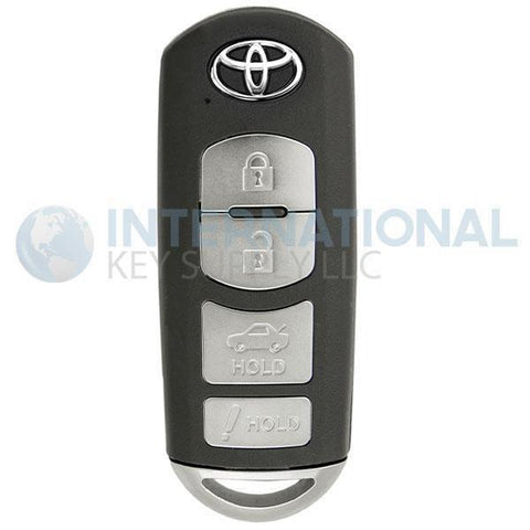 Toyota 4 Button Proximity Remote Smart Key WAZSKE13D01 89904-WB001