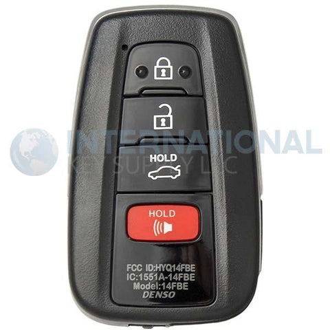 Toyota Avalon 4 Button Smart Key HYQ14FBE 8990H-07020 (0410) Hybrid Models
