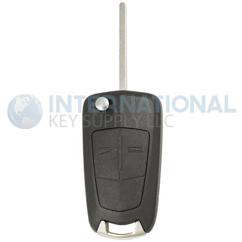 Saturn Astra 2 Button Remote Flip Key N5F736744-A / 93192428