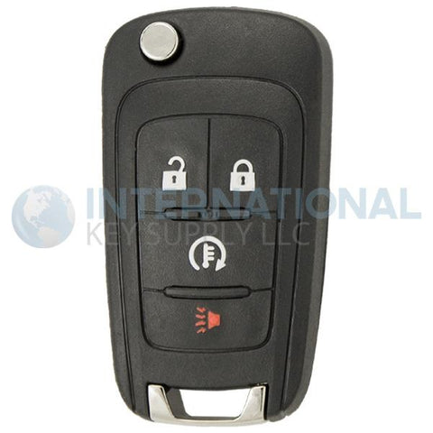 Chevrolet Spark EV 4 Button Remote Flip Key 94543198 A2GM3BFUS04