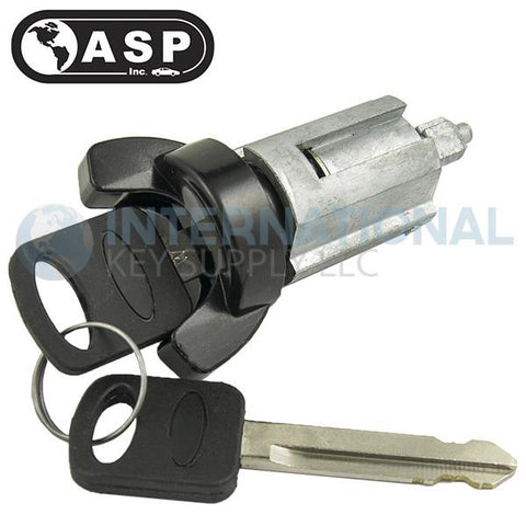 ASP C-42-120 Ford 10-Cut Ign Small Ears Black - Coded