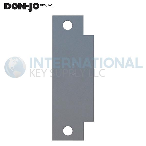 DON-JO FS-260 ASA Strike Cut Out Filler Plate Prime Coated Steel - 10 Pack